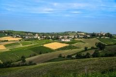 Foto panoramica di Montalbo